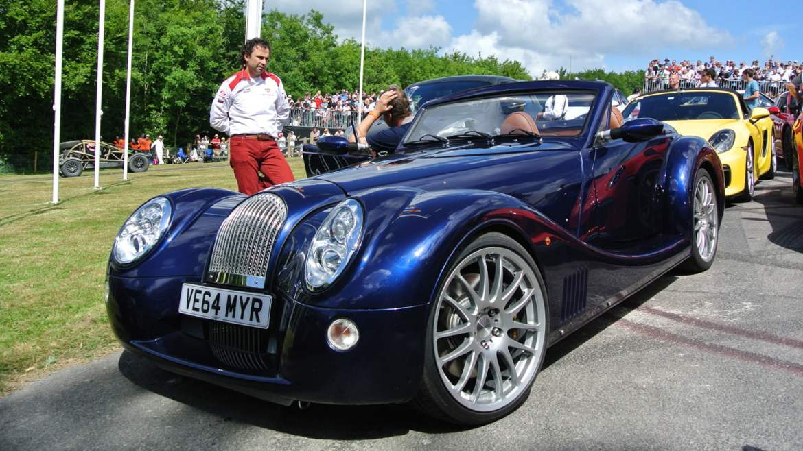 Morgan Aero 8 at Goodwood