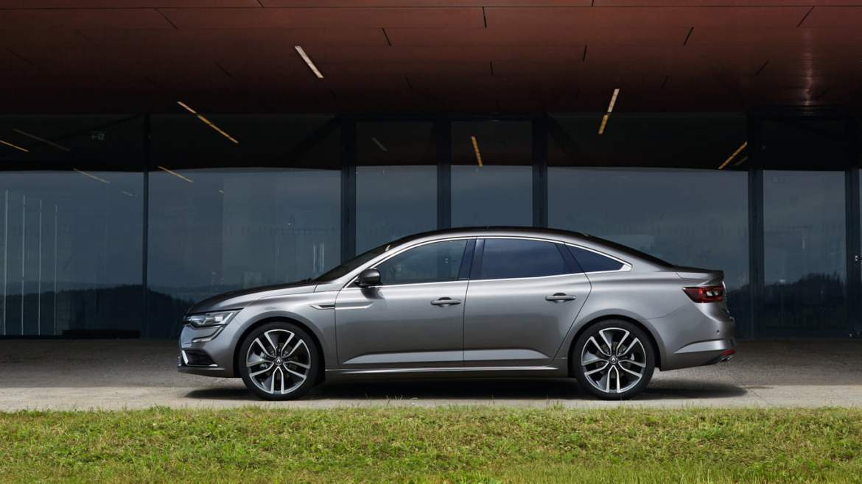 New Renault Talisman side view