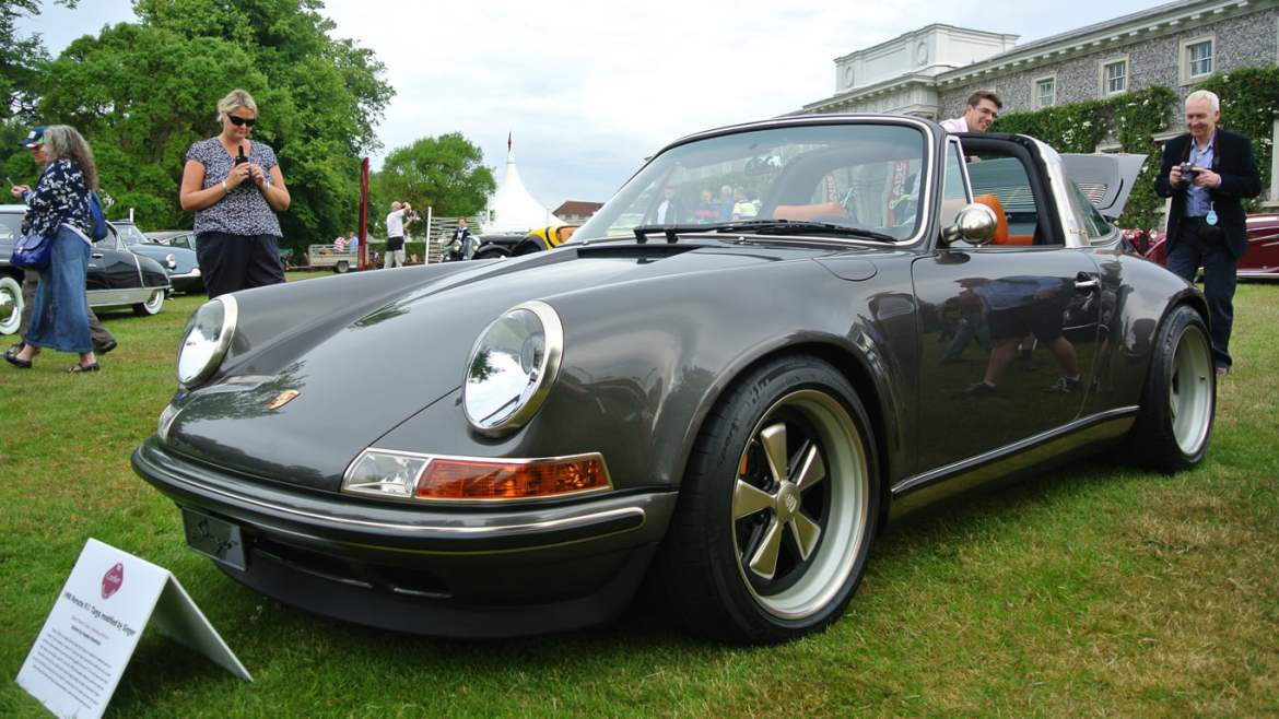 Singer 911 at Goodwood