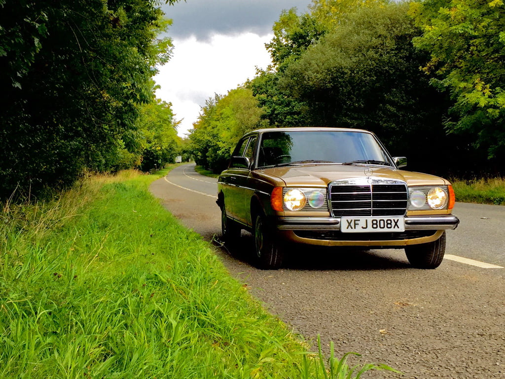 Oh Lord, I've bought a Mercedes-Benz W123