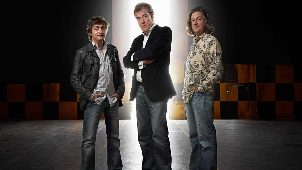 The chaps from Top Gear