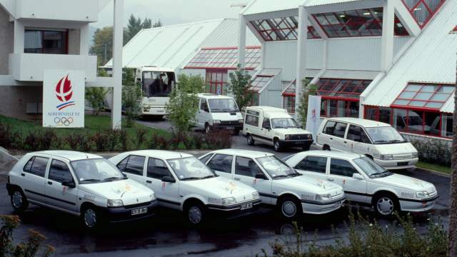 Official cars of Albertville 1992
