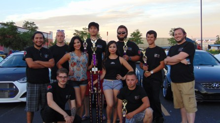 Team Btr taking home a ton of trophies.