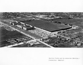 1950s - The Center Line, Michigan, Mopar Parts Depot opens to supply products in a timely fashion to critical markets. The parts center still flourishes today, with more than 1,300 employees and more than 16.5 million parts shipped out annually from the Center Line complex.