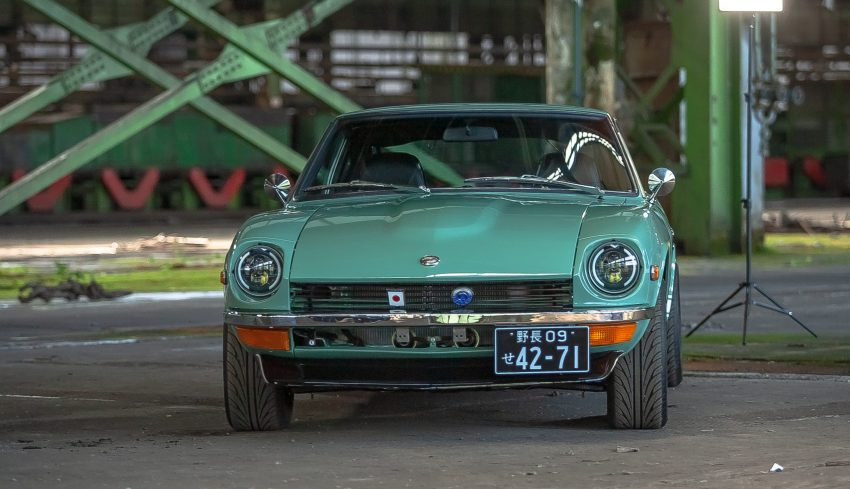 Mint Green Restored Datsun 240z