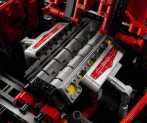 Lego car Ferrari 599 GTB