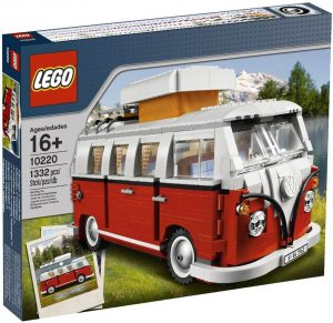 Lego car VW T1 Splitscreen Campervan