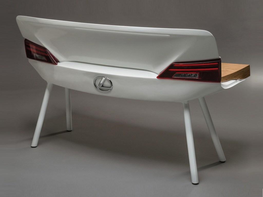 Car furniture Lexus bench