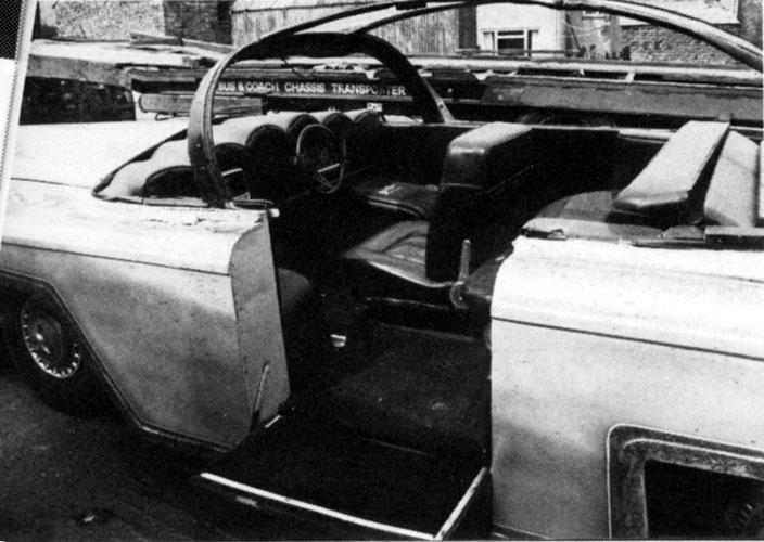 FAB 1 Rolls Royce Replica during restoration