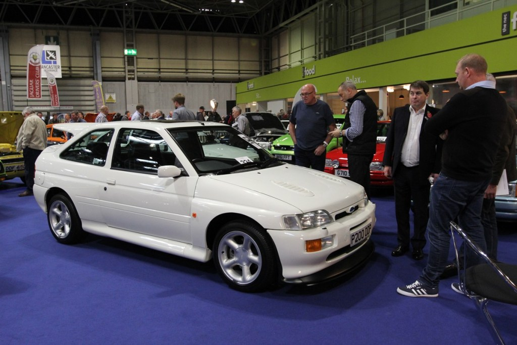 Low mileage Ford Escort Cosworth