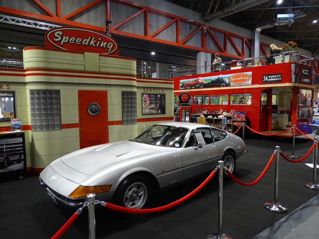 NEC Classic Car Show Speedking Ferrari Daytona