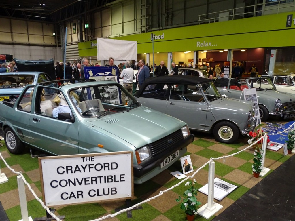 Crayford Owners Club at the NEC Classic Car Show 2017