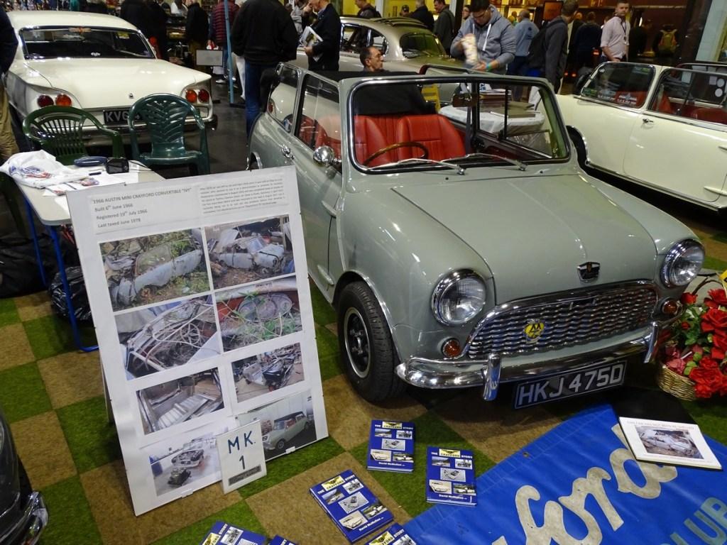 Crayford Mini NEC Classic Car Show 2017