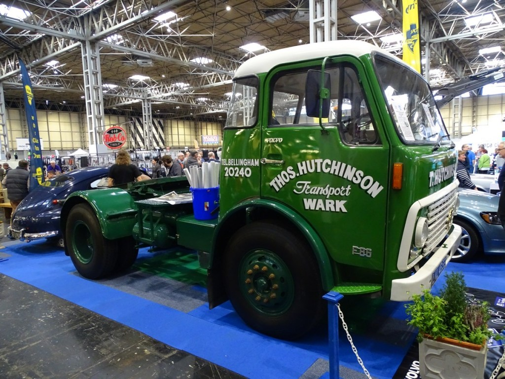 Classic Volvo Lorry at the NEC Classic Car Show 2017