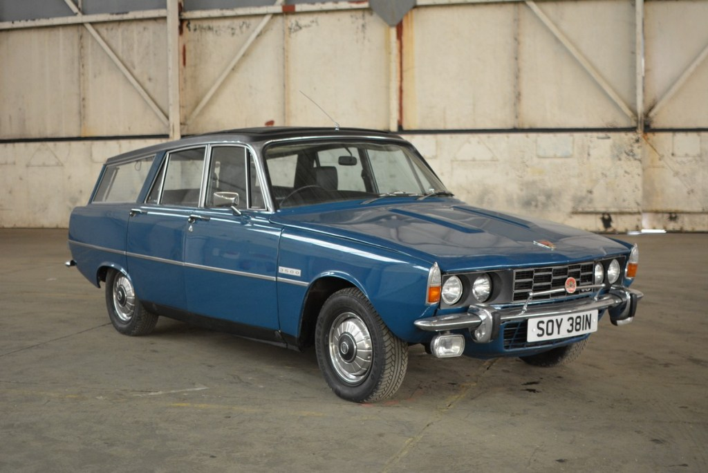 Bicester Heritage Auction Rover P6 Estate