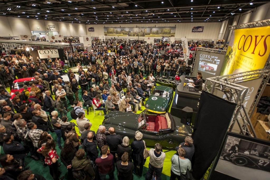 Coys Auction returns to HMI