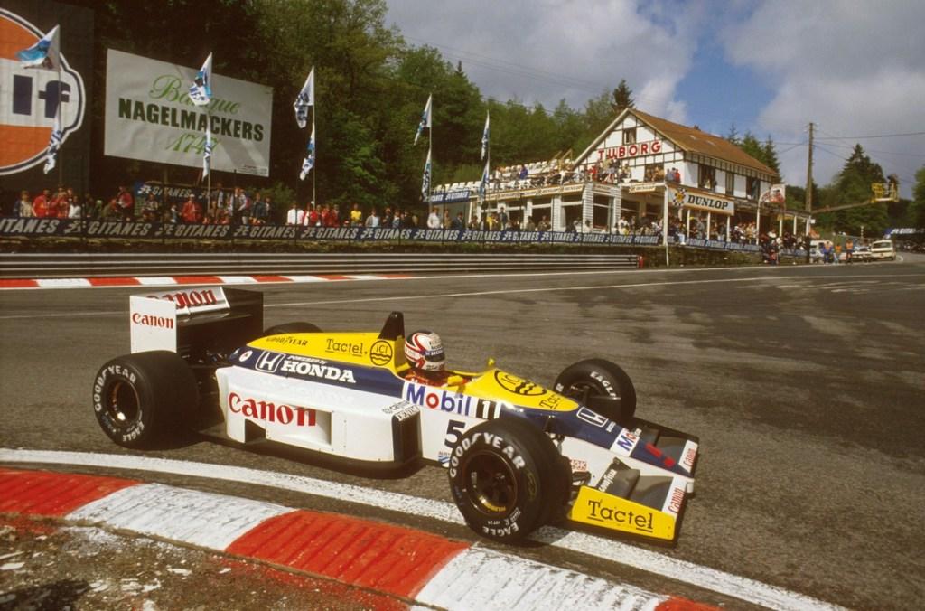 1986 Belgian Grand Prix.