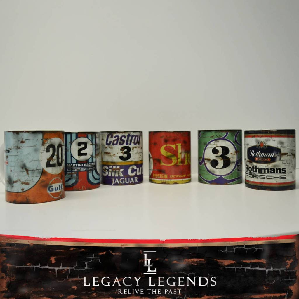 Racing Retro Vintage Mugs