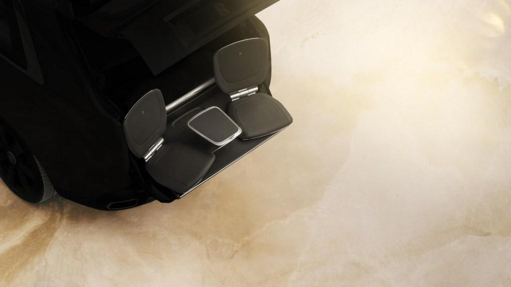 Rolls Royce Cullinan seats