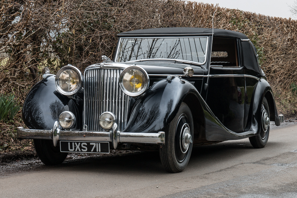 1948 Jaguar 3.5 litre Mark IV Drophead Coupe