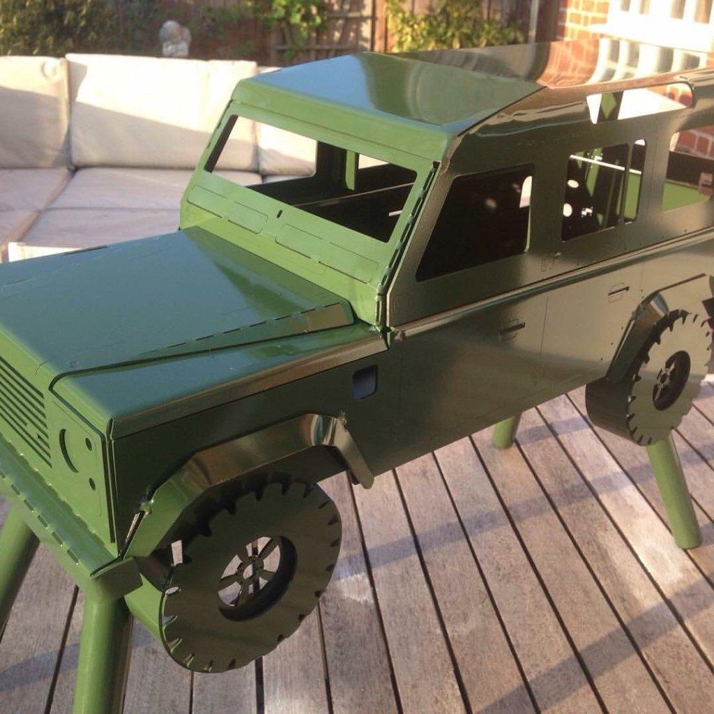 Landycue Land Rover BBQ
