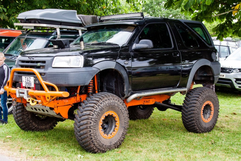 Simply Land Rover People's Choice winning modified Freelander