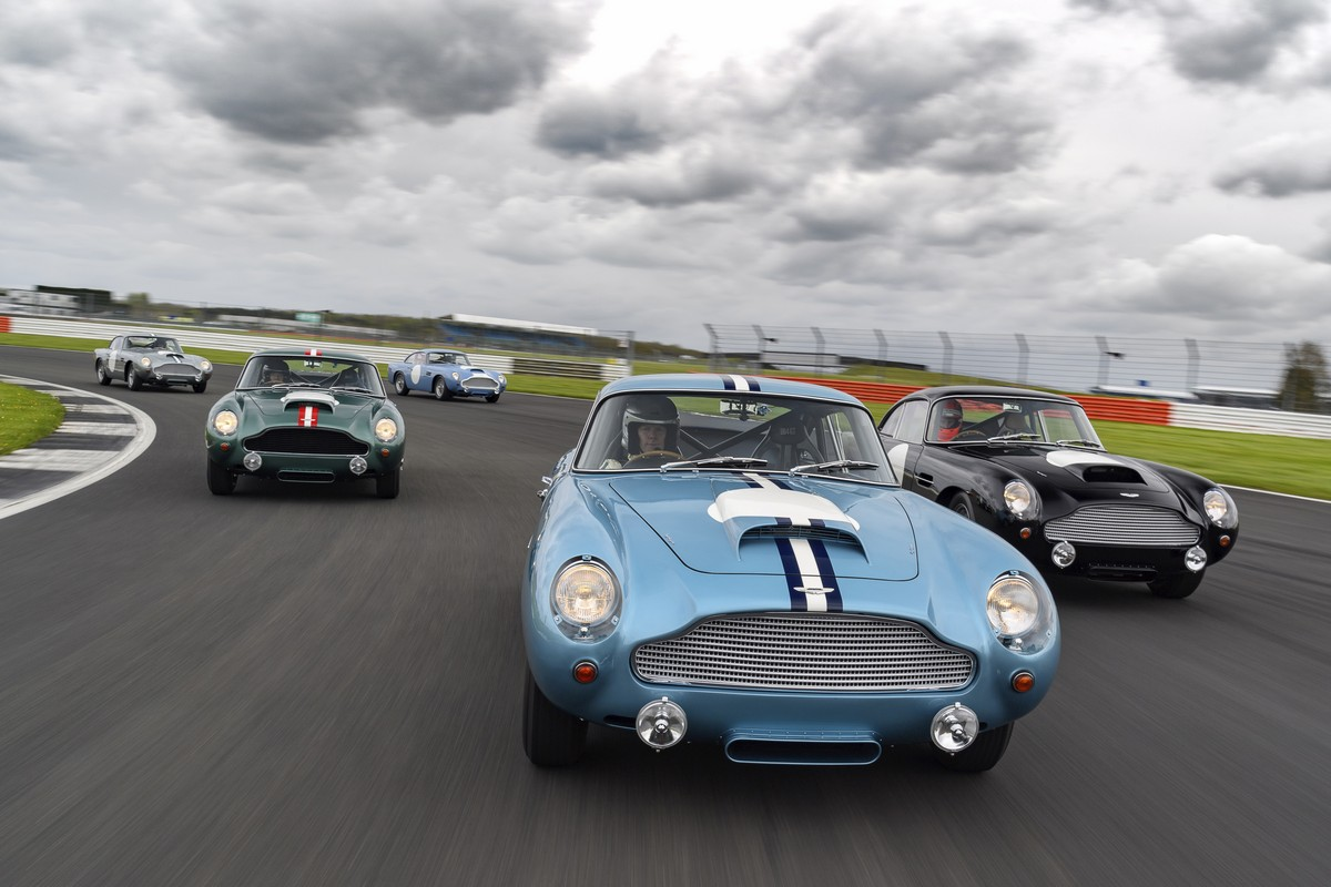 Aston Martin DB4 GT Continuation cars