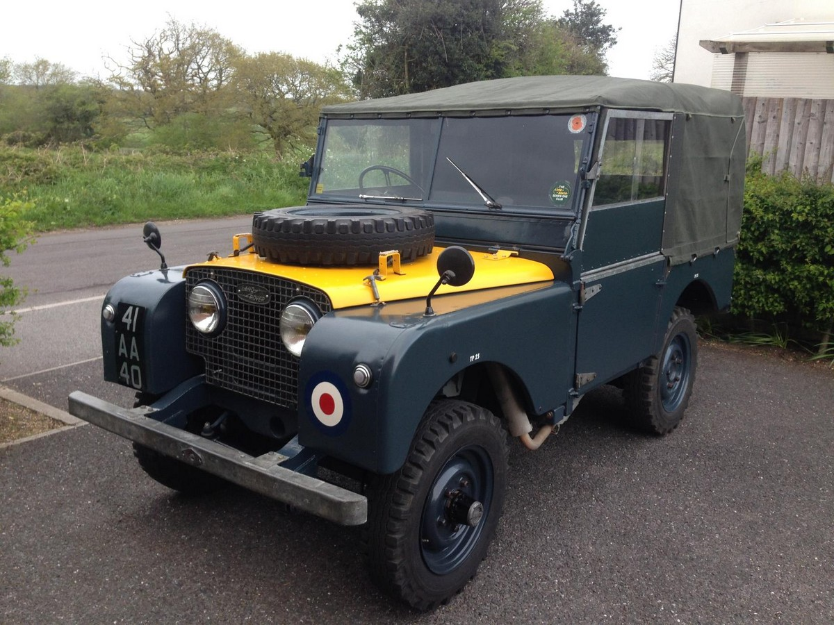 Royal Air Force Land Rover Series I