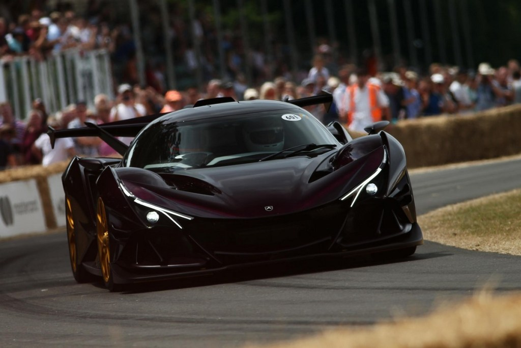 Apollo Intensa Emozione at the 2018 Goodwood Festival of Speed