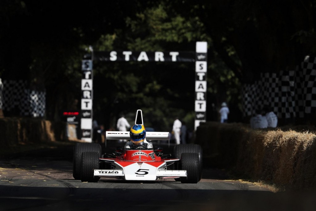 Mclaren at the Goodwood Festival of Speed 2018