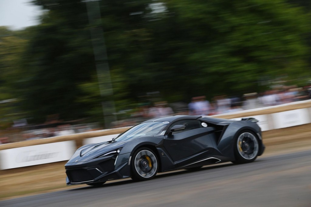 W Motors Fenyr Supersport at the Goodwood Festival of Speed 2018