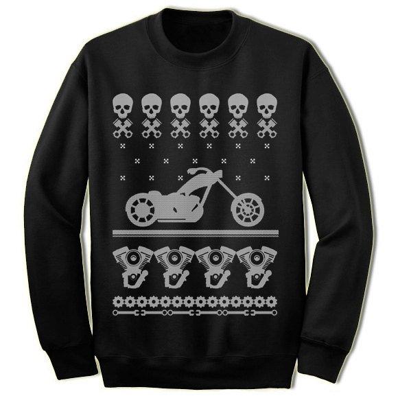 Biker Christmas Jumper