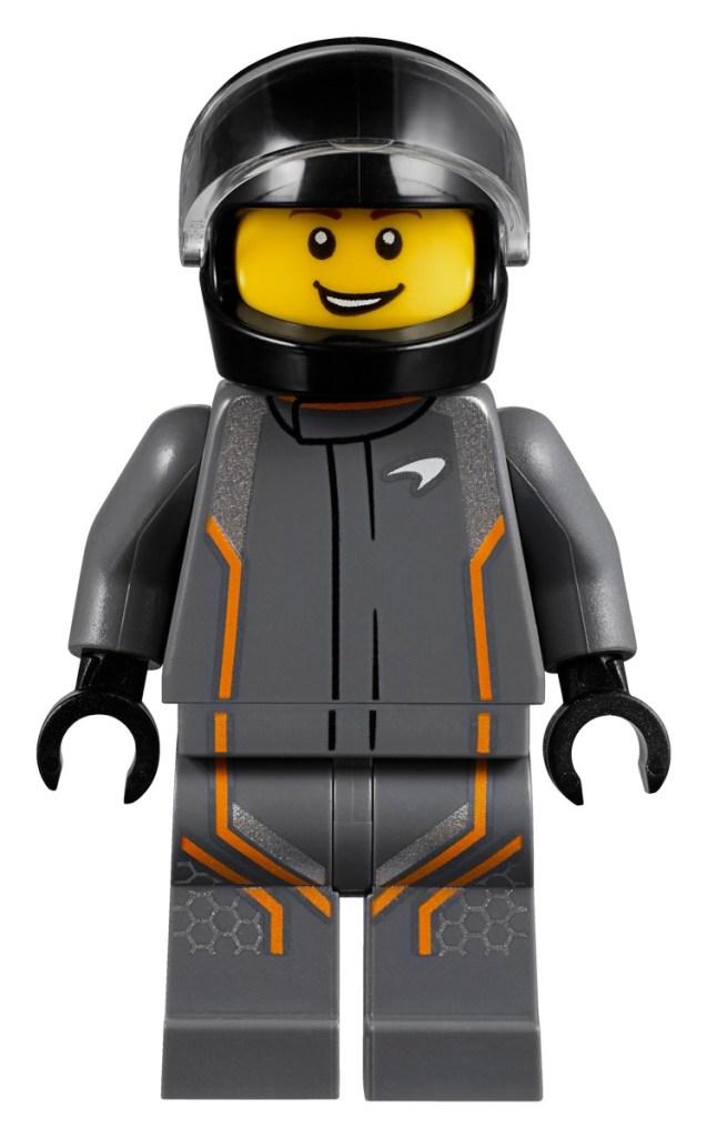 McLaren Senna LEGO minifigure