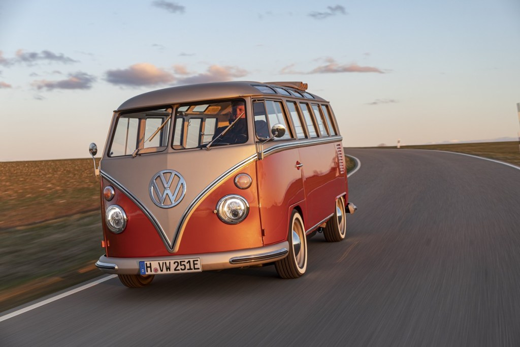 Classic Cool with Electric Powered VW Bus