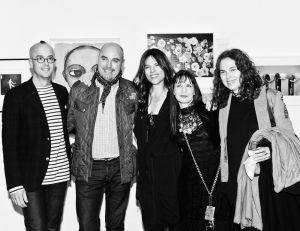 Jean-Marc Flack, Doreen Remen, Karen Erickson & Friends at The Art Hearts Petronio Auction 2012 (photo by DIANA ELIAZOV/BFANYC.COM)