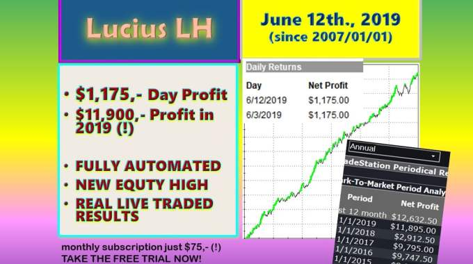 Automated System Lucius. Breaking $$ Higher ↗️ Just A Week After!