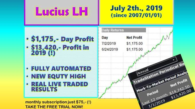 Flying High! ✈️Lucius LH At The New All-Time Double High ??