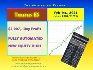 Taurus ES New High 2021