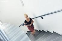 Kelnerki wchodzą po schodach kilkadziesiąt razy w ciągu dnia