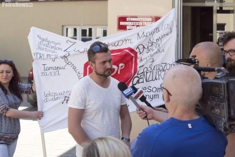 PWSZ Protest (1)