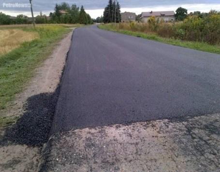 Nakładka asfaltowa w Kostrogaju