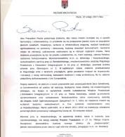 Pismo prezydenta Płocka z 20.02.2017, przesłane przez mobiDziennik
