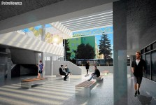 Wizualizacja Galerii Miodowa