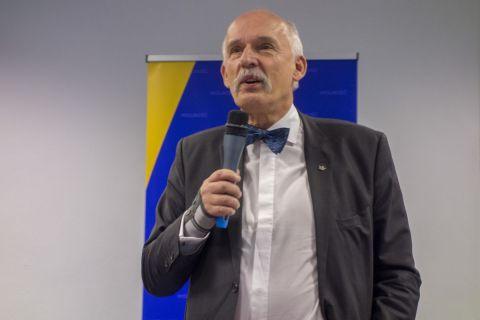 Janusz Korwin-Mikke fot. Wiktor Pleczyński