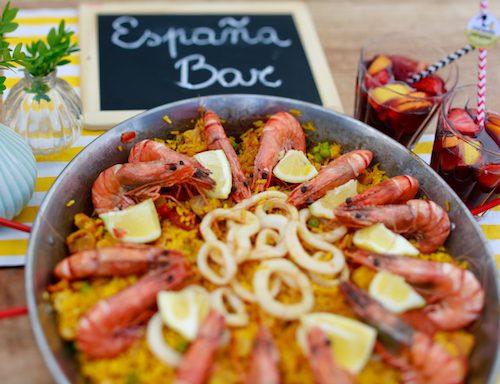 Espagna Bar ou paella géante - petronillelampion