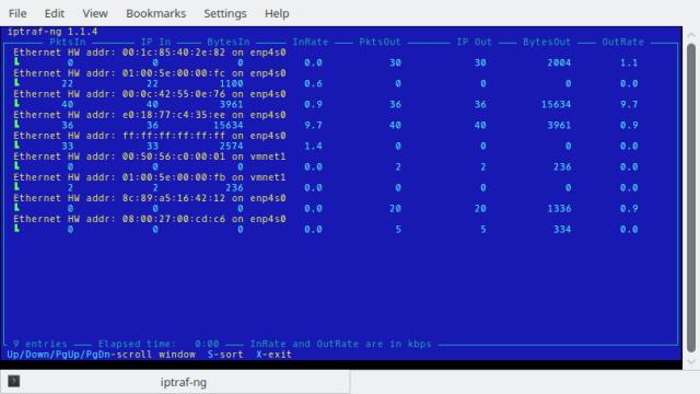 Layar LAN Station Monitor