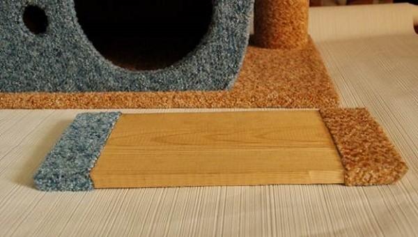 For at bevare det harmoniske udseende af vores sidste detalje, skal du også dekorere det med den klud, vi bruger