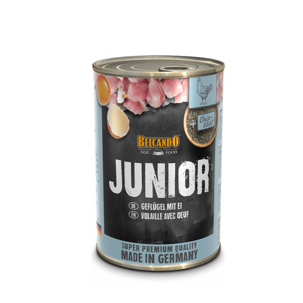 BELCANDO® JUNIOR Poultry with Egg 400g x6