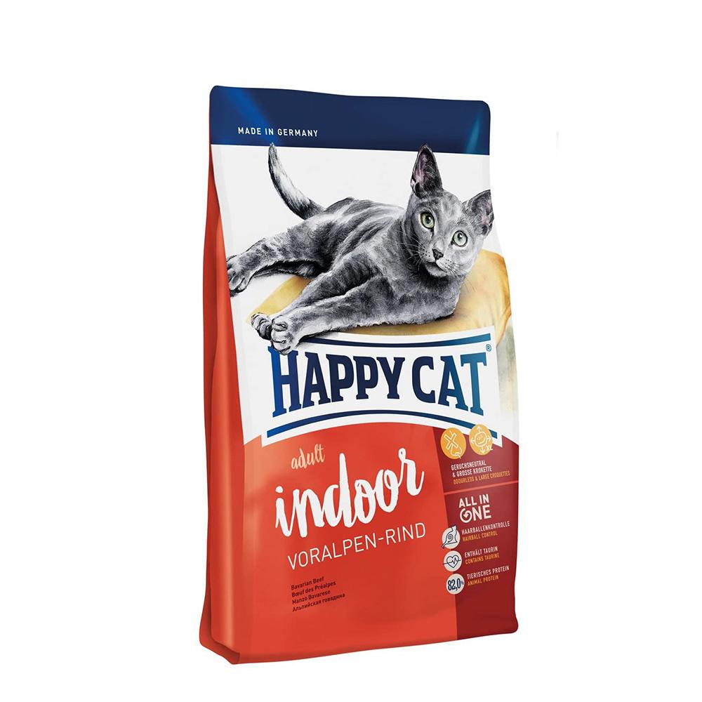 Happy Cat Indoor Bavarian Beef 4kg