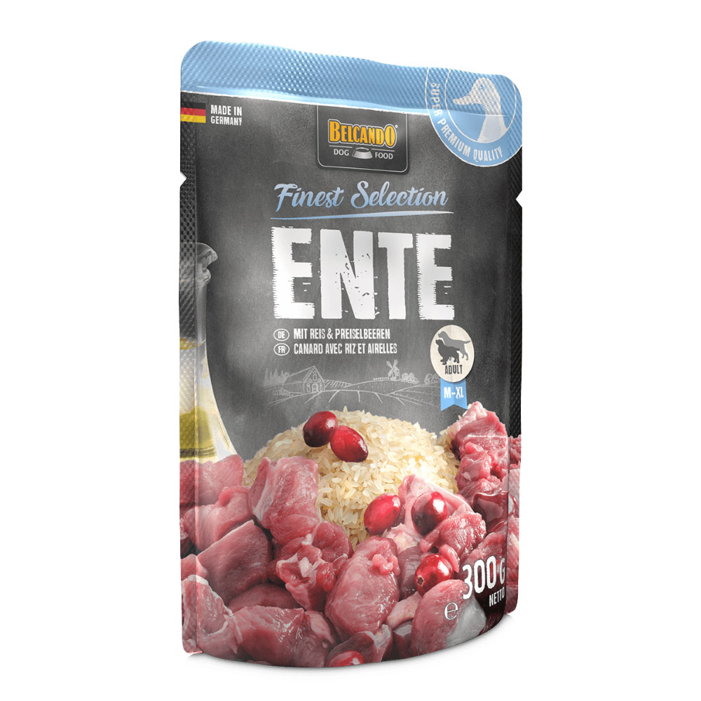 BELCANDO® Duck with Rice & Lingonberry 300g